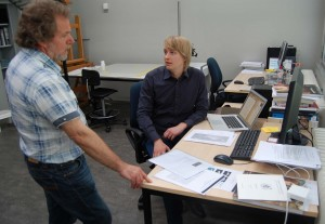 Dhrn. Luuk Hoogstede en Henk Groenendaal, foto Lukas Stofferis